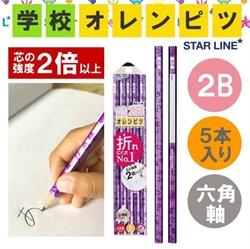 【STAD】硬芯六角2B鉛筆組 (紫)