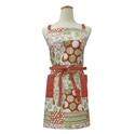 【YOKOZUNA】北歐風圍裙(花邊-紅)