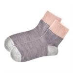 【SHF】ELEBLO防靜電舒適襪 (紫灰)