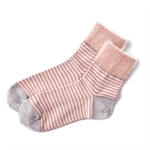 🌟【SHF】ELEBLO防靜電舒適襪 (粉條紋)