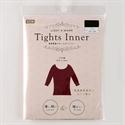 👕【Tights Inner】八分袖發熱衣-酒紅L~LL.