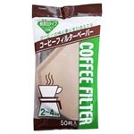 【協和紙工】無漂白 咖啡濾紙 (50入)