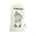 🌟【SANBELM】塗鴉設計隔熱手套-熊貓