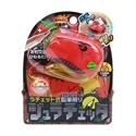 【SONIC】可調整 恐龍削鉛筆機(橘)