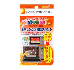 🌟【不動化學】橘油清潔海綿(微波爐專用)