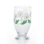 🌟【ADERIA】昭和復古曲線杯 (小白花)