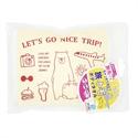【SANBELM】旅行專用浴巾袋-白色