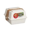 【INOMATA】野餐漢堡盒(白)