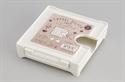 【INOMATA】磁吸式咖啡濾紙收納盒(白)