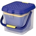 【INOMATA】多功能子母水桶15L 藍