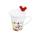 【三郷陶器】月兔 吉祥物馬克杯