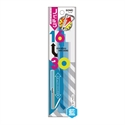 【SONIC】30cm伸縮直尺 (藍)