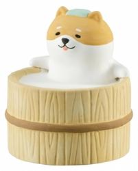 【DECOLE】慵懶日和 香氛吉祥物(柴犬)