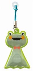 【DECOLE】反光磁性雨傘支撐吊飾(青蛙)