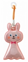 【DECOLE】反光磁性雨傘支撐吊飾(兔子)