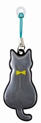 【DECOLE】反光磁性雨傘支撐吊飾(黑貓)