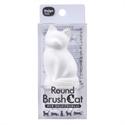 【Daiya】吸盤式貓型清潔刷(白貓)
