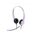 【SONIC】集中力舒適耳機麥克風-紫