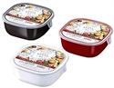 【NAKAYA】餐碗型保鮮盒 (方)