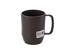 【INOMATA】微波爐專用湯杯(咖啡色)