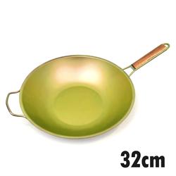 【HOREI】TIARA三層鈦鋁合金鍋-金32CM
