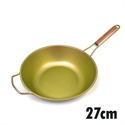 【HOREI】TIARA三層鈦鋁合金鍋-金27CM