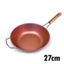 【HOREI】TIARA三層鈦鋁合金鍋-玫瑰金27CM